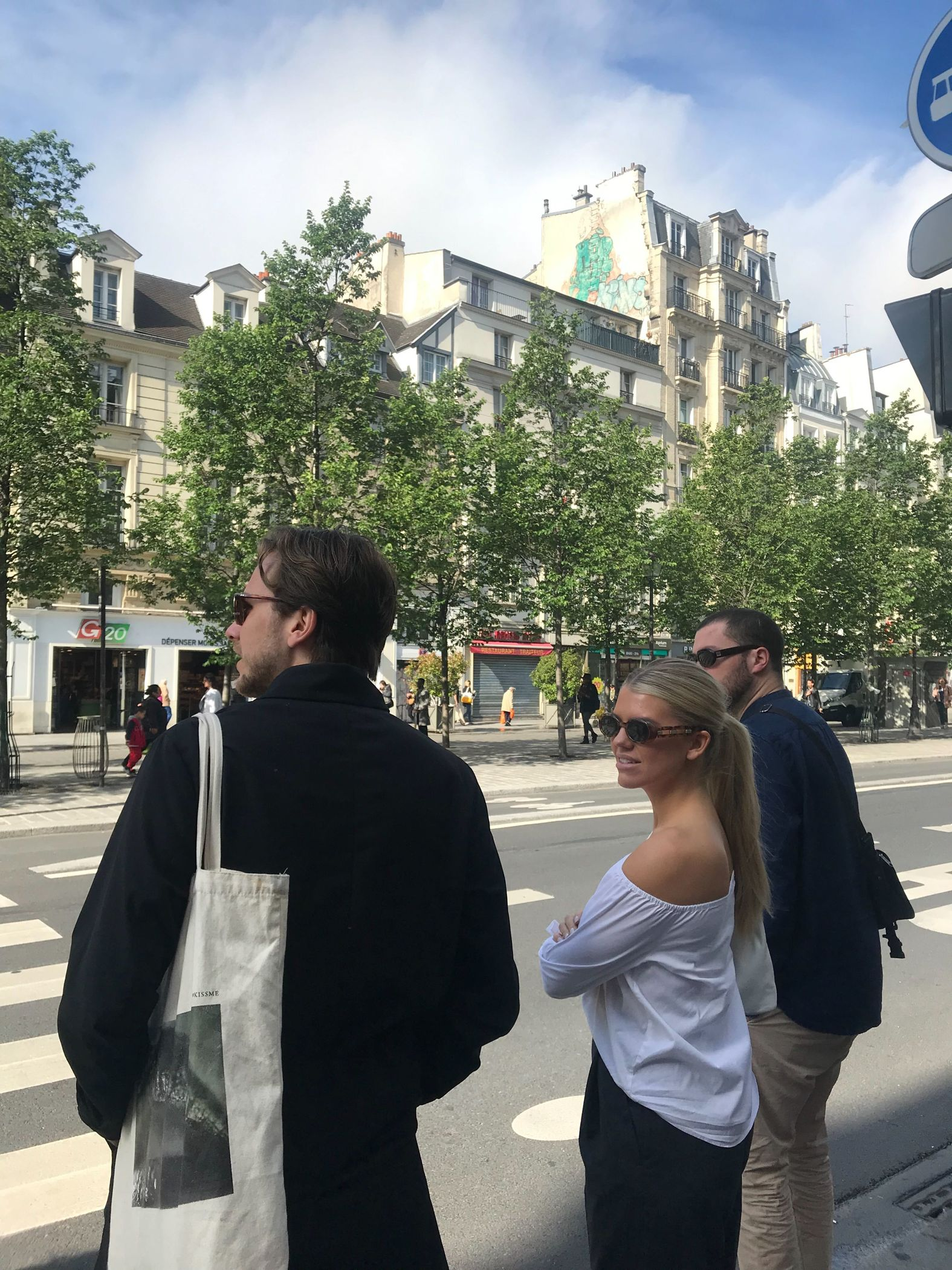Meeting investors, eating croissantes, people watching  at SaaStr in Paris
