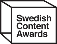 Swedish Content Awards logo