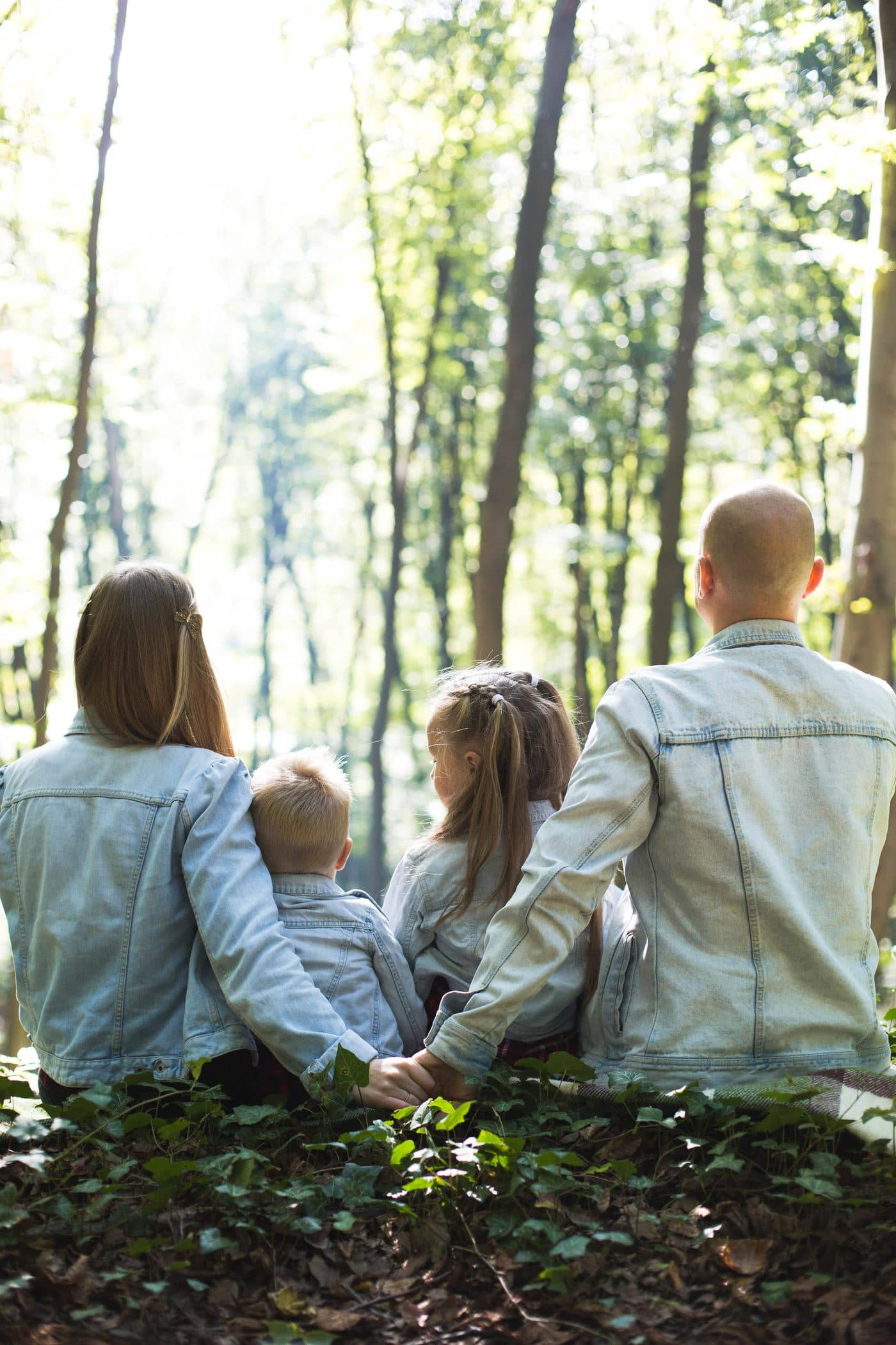 They just wanted to have a cute family photoshoot, so we went to the forest and, well, they are so cute, that I dont have words to describe it