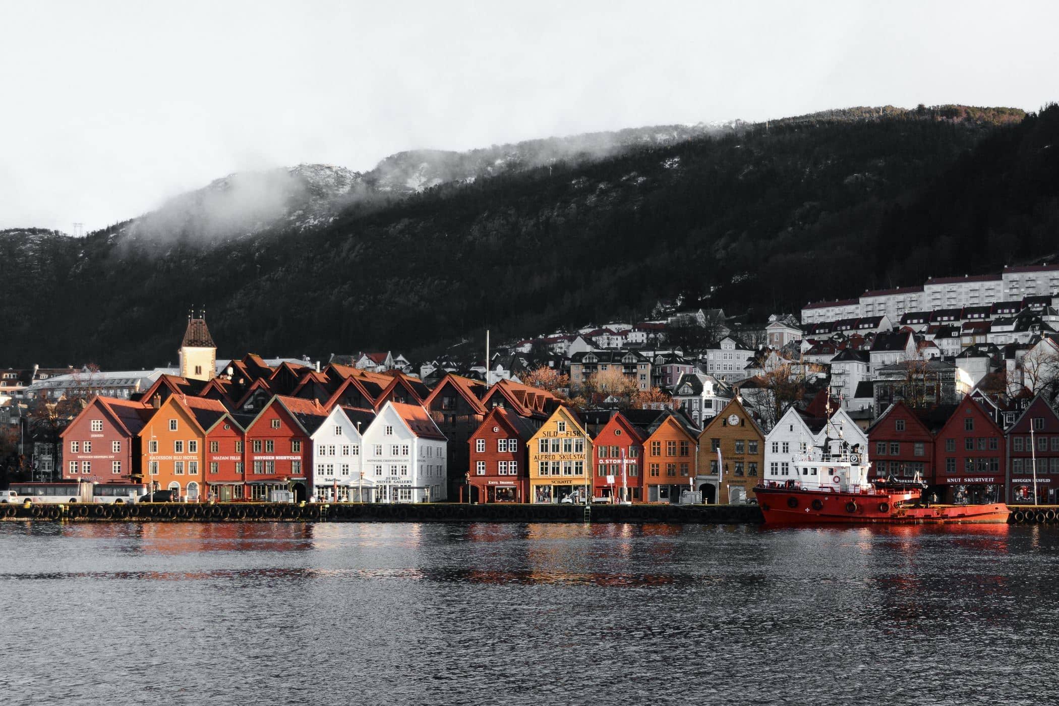 Morning in Bryggen