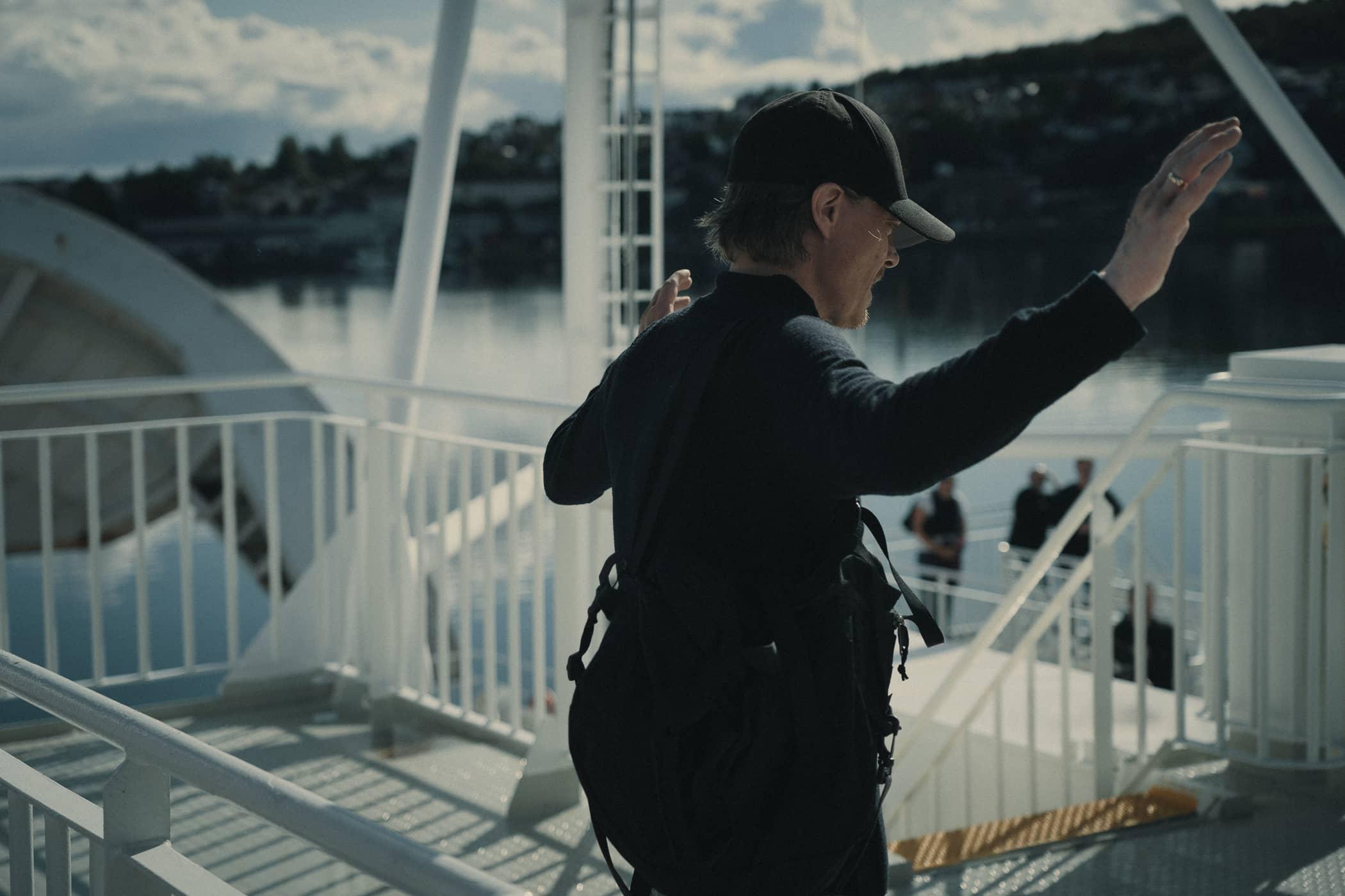 Olle on ferry - Photo Anders Nicander.jpg
